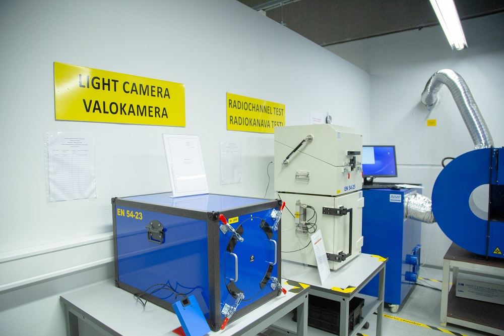 Тестовая лаборатория для проведения испытаний оборудования на соответствие EN-54
