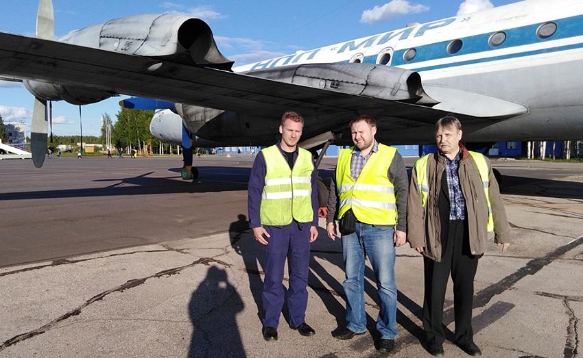Роман Ермаков, Максим Самулеев и Михаил Ровкин, представляющие три организации — исполнителя проекта