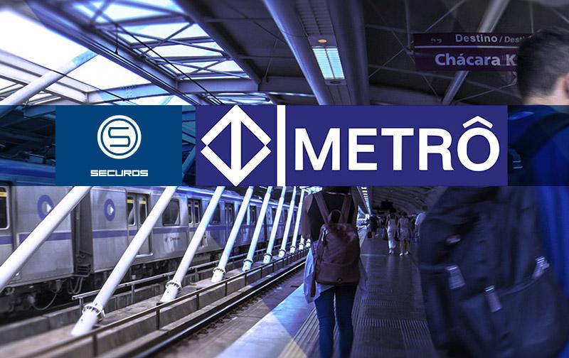 Новая система безопасности ISS в метро Сан-Паулу