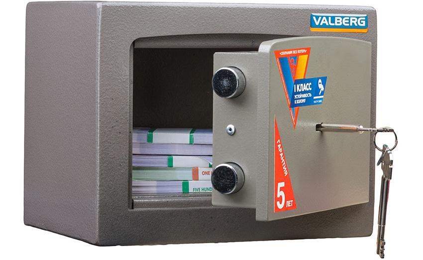 Устойчивые к взлому сейфы 1 класса VALBERG КАРАТ