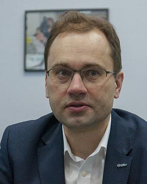 Генеральный директор компании — национального чемпиона «СуперОкс» Сергей Самойленков