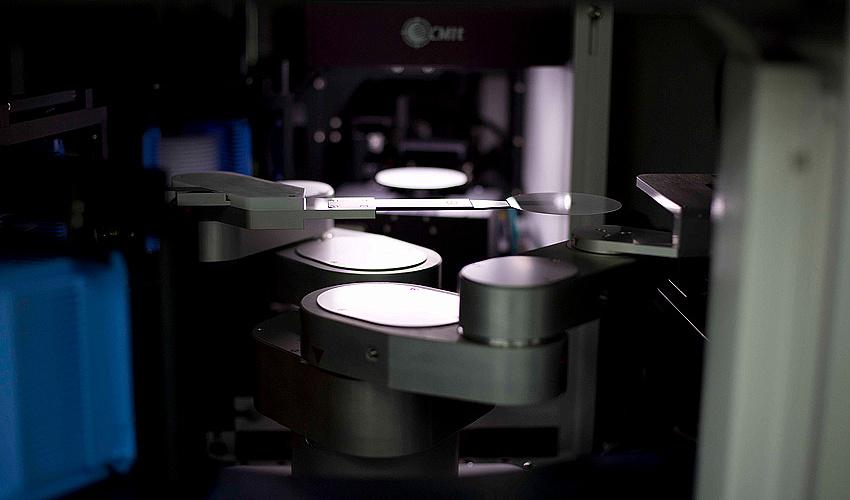 Роботизированный контроль геометрических параметров сапфировых пластин